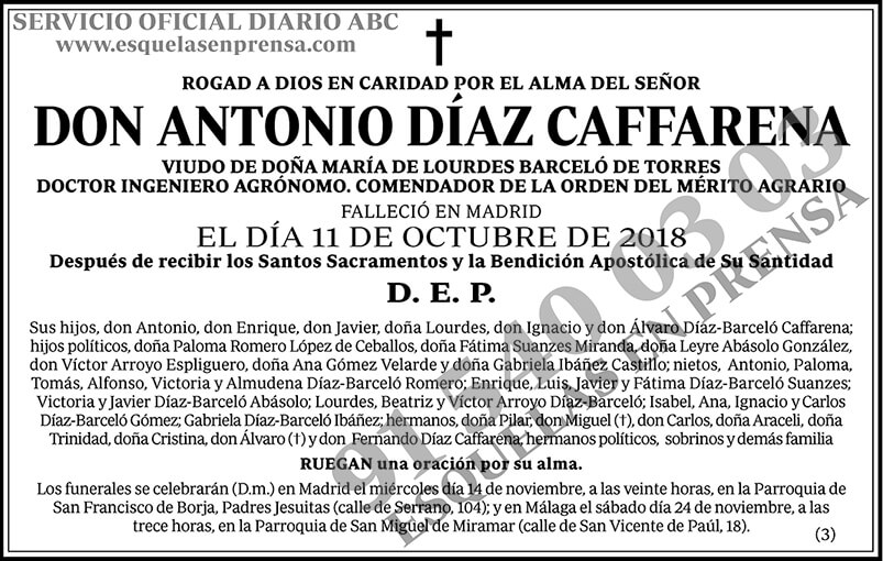Antonio Díaz Caffarena